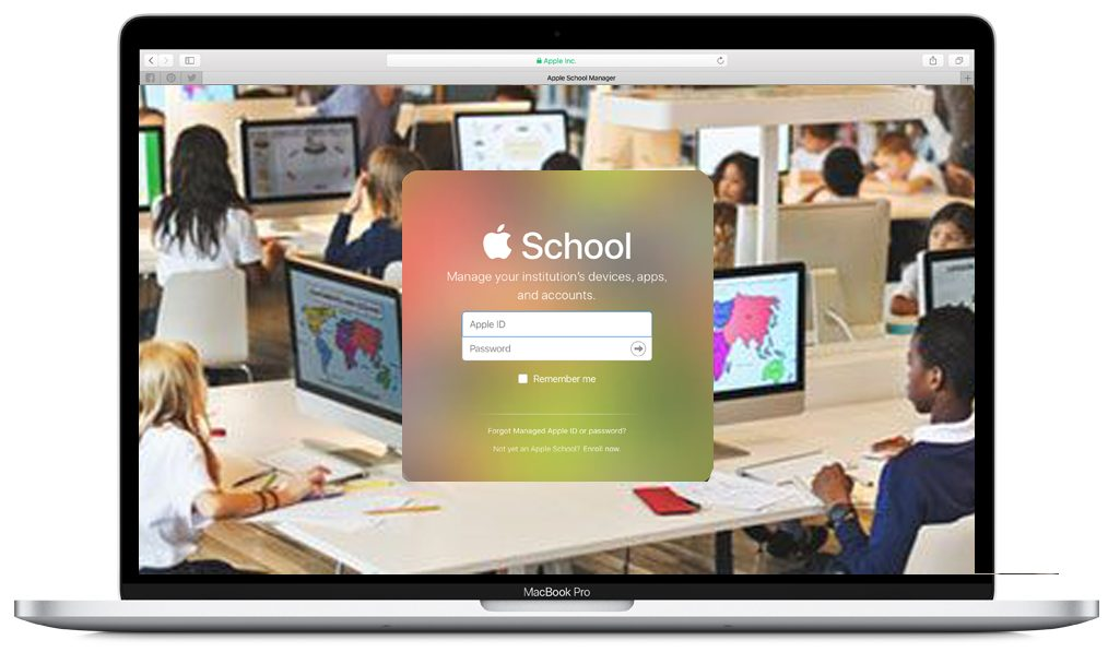 Apple in schools